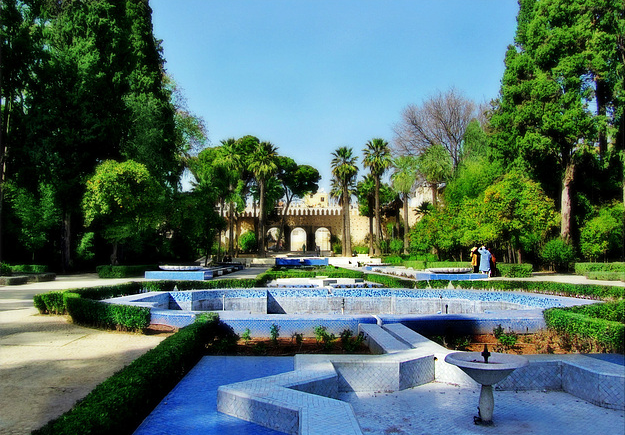 Visitez f s for Jardin hispano mauresque